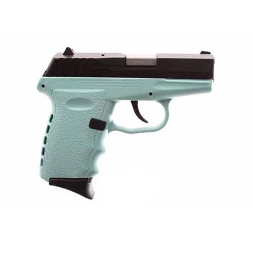 SCCY 9MM Pistol Teal Frame