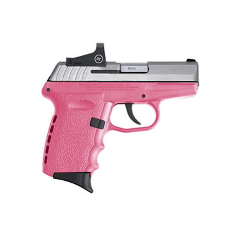 SCCY 9MM Pistol w/Crimson Trace Red Dot