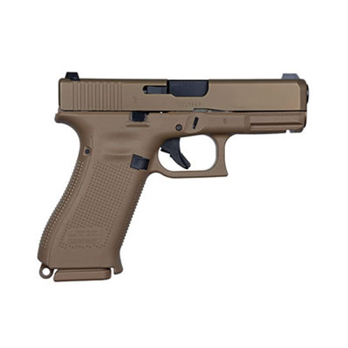 Glock G19X 9MM Auto Pistol COYOTE FINISH