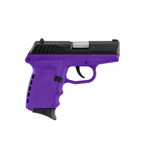 SCCY 9MM Pistol Purple Frame