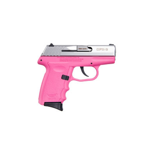 SCCY 380 ACP Pistol Pink Frame