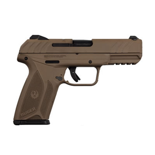 Ruger Security 9 9MM Semi Auto Pistol Barret Brown