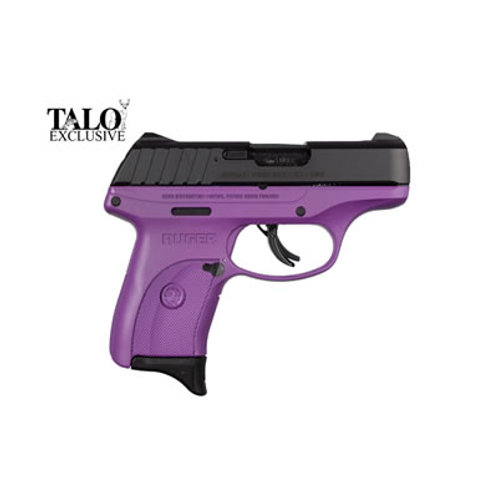 Ruger EC9s 9MM Semi Auto Purple Frame