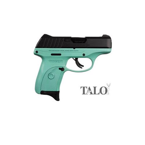 Ruger EC9s 9mm Semi Auto Pistol Turquoise