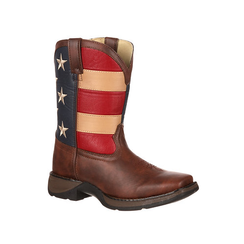 Lil' Durango Kid's Patriotic Western Boot