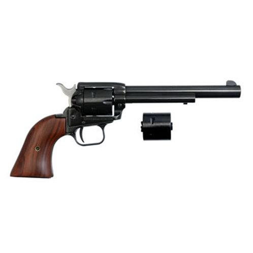 """Heritage Rough Rider 22LR/22 MAG Revolver 6.5""""BL"""
