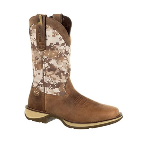 Rebel by Durango Desert Camo Pull-on Western Boot