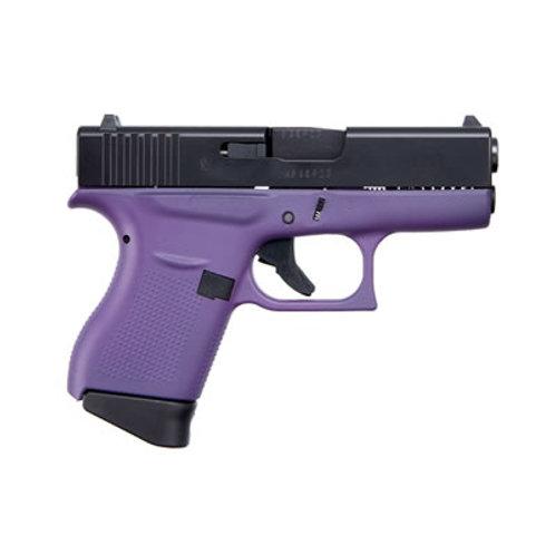 Glock G43 9MM Semi Auto Pistol Purple Frame