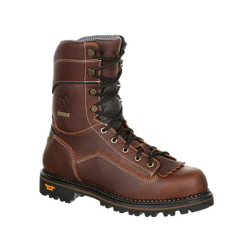 Georgia Boot AMP LT Logger Comp Toe Low Heel Waterproof Boot
