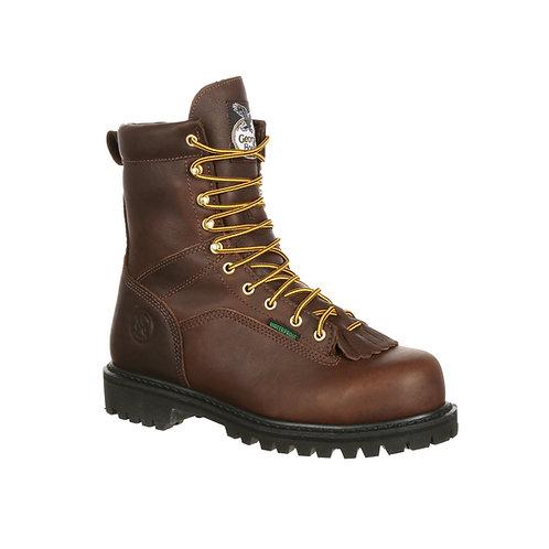 Georgia Steel Toe Waterproof Lace-to-Toe Work Boot