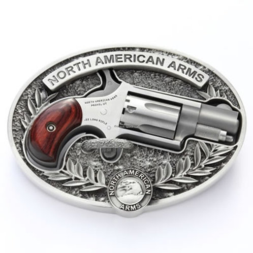 NAA 22LR Mini Revolver With Belt Buckle