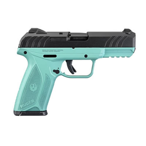 Ruger Security 9 9MM Semi Auto Turquoise Frame