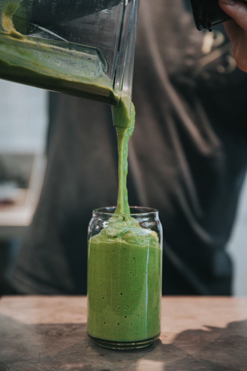 Wheatgrass in your green smoothie
