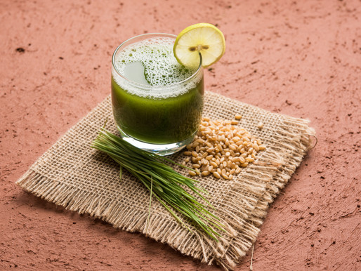THIS IS WHAT HAPPENS WHEN YOU TAKE A SHOT OF WHEATGRASS.