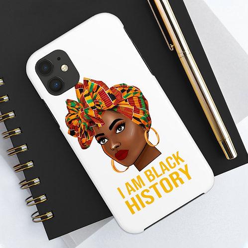 I AM BLACK HISTORY case