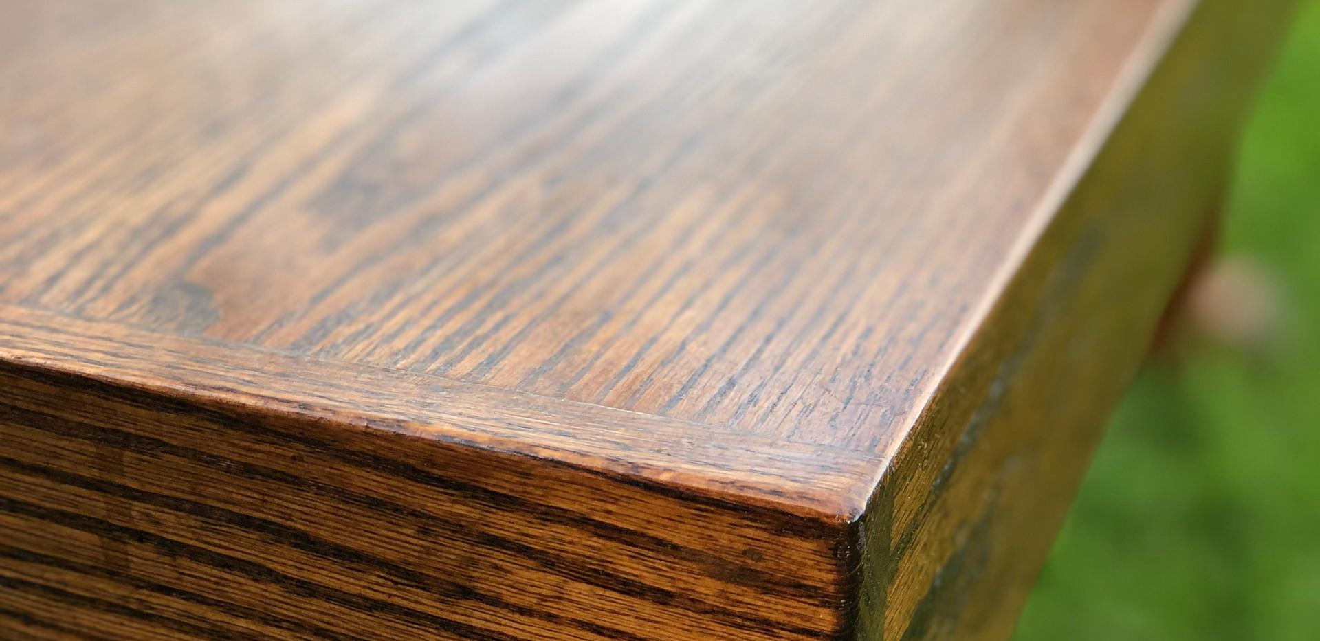 Vedic Solid Oak Farmtable
