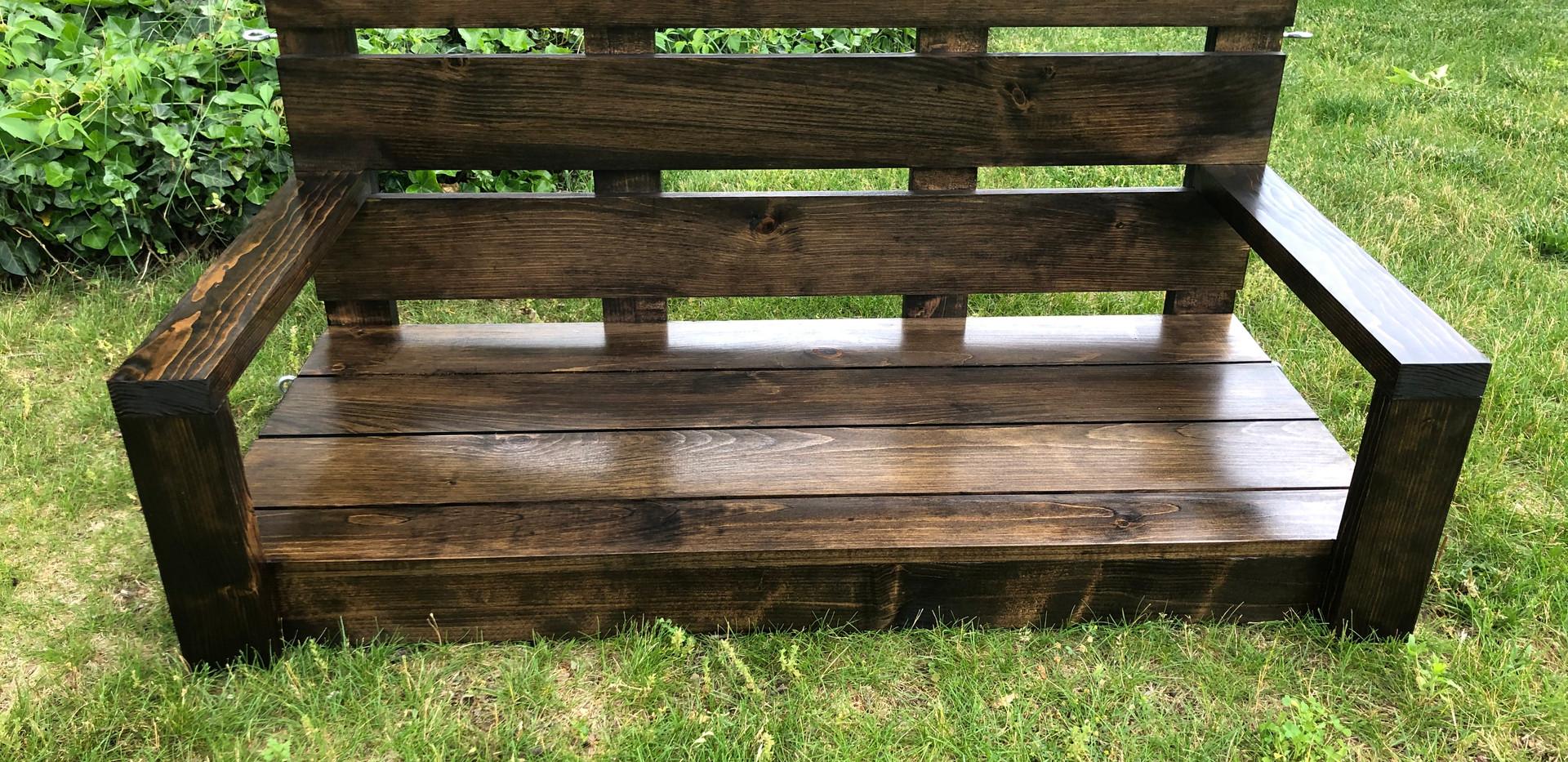 Datu Farmhouse Porch Swing