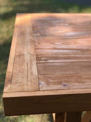 Picea Farmhouse Table Diamond Top