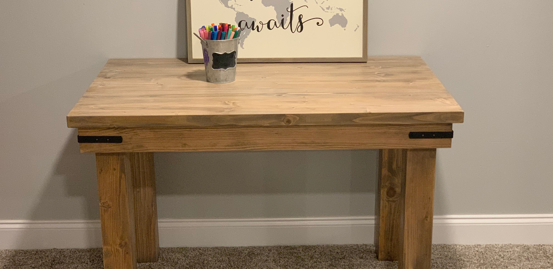 Sunsail Kids Farmhouse Table Crafts Children