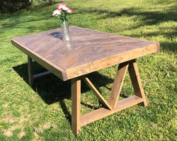 Violet Farmhouse Table