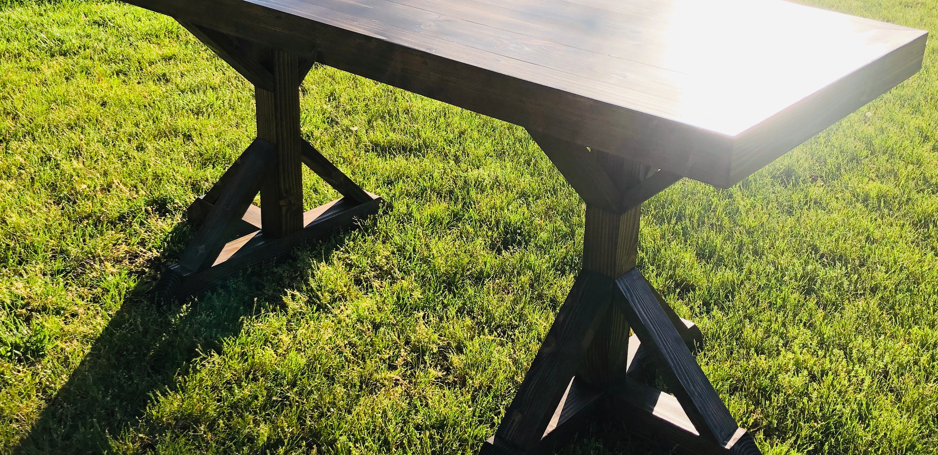 Dorrie Farmhouse Table Bar Height