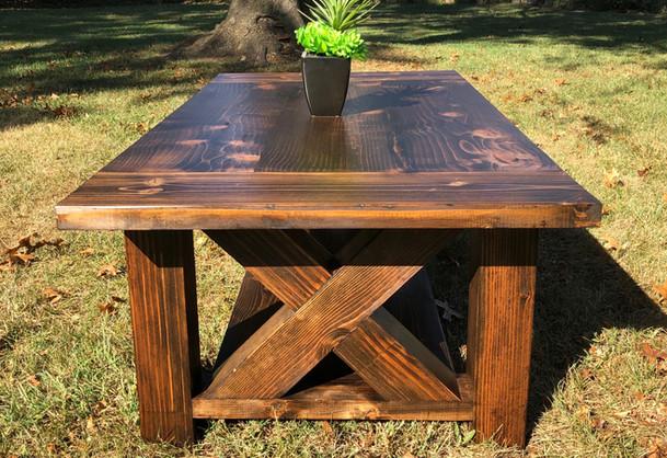 Paisley Farmhouse Coffee Table