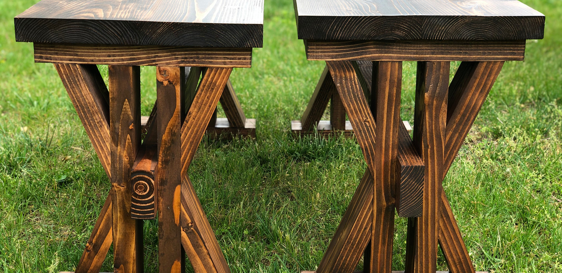 L'Océan Farmhouse Table Benches