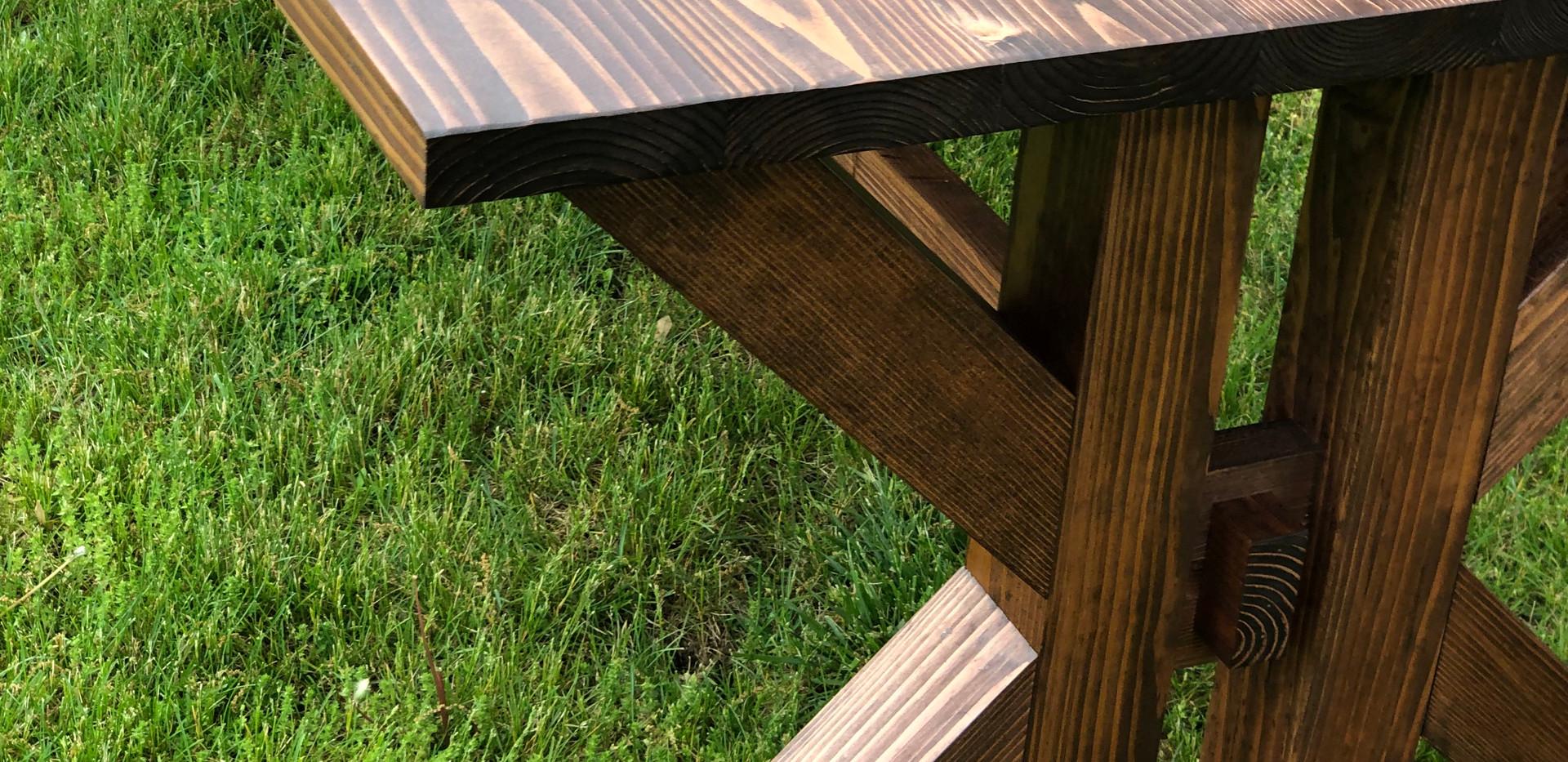 L'Océan Farmhouse Table and Benches