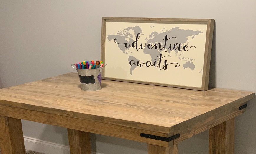 Sunsail Kids Farmhouse Table Crafts Children