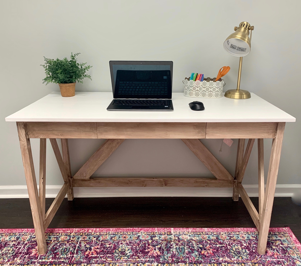 Nai'a Farmhouse Desk