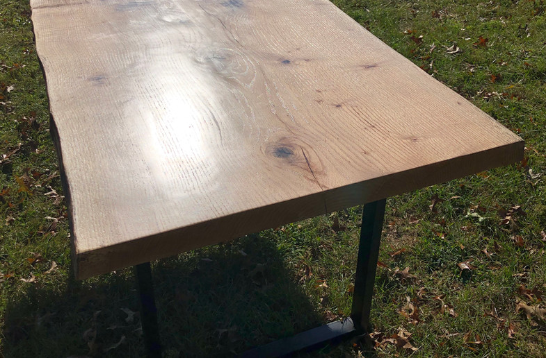 Año Nuevo custom Live Edge dining table