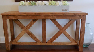 DIY-X-brace-Console-Table-Free-Plans-Rog