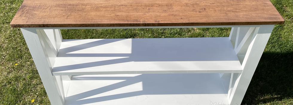 OSPREY FARMHOUSE CONSOLE TABLE