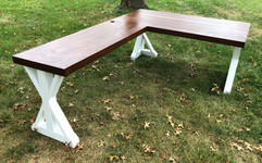 BOOMER FARMHOUSE L-SHAPED DESK