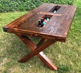 Caspian Beer Cooler Farmhouse Table