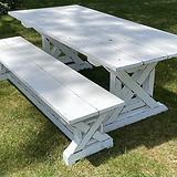 Eureka Farmtable & Bench