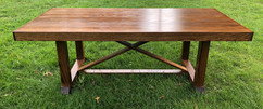 Vedic Solid Oak Farmtable