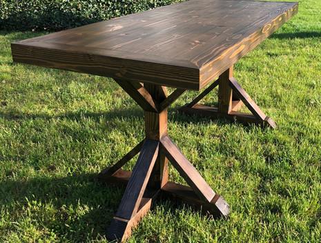 Dorrie Farmhouse Table Bar Height