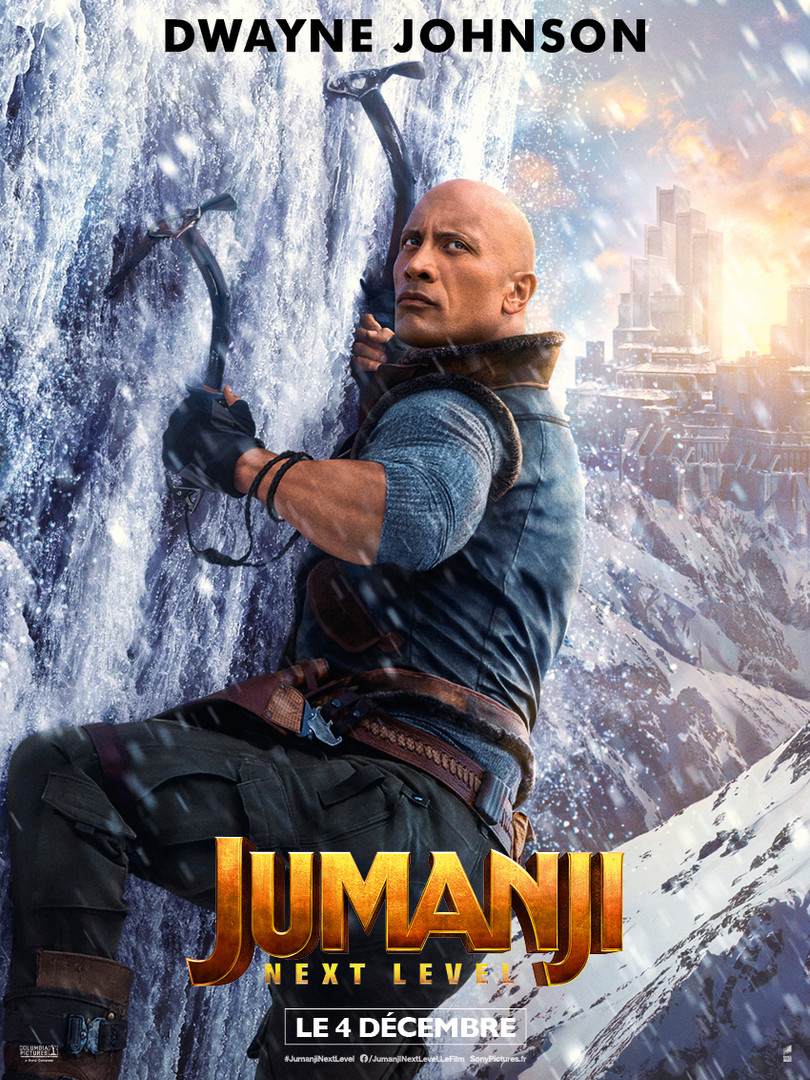 Jumanji : Next Level - Dwayne Johnson