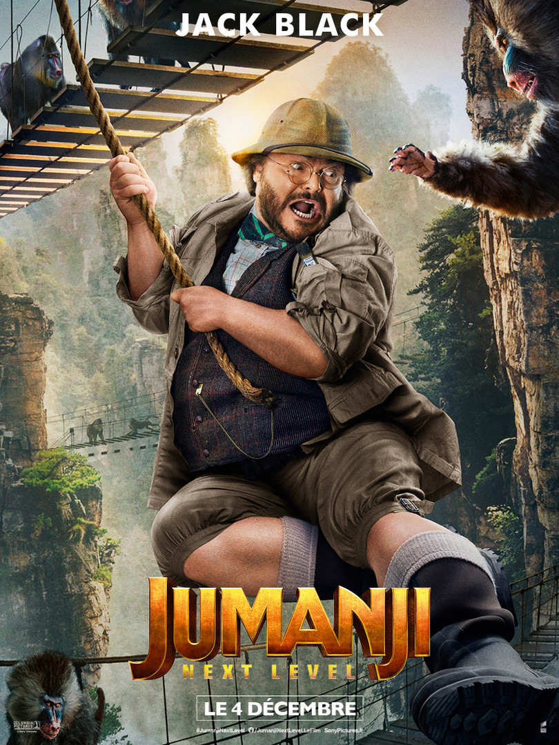 Jumanji : Next Level - Jack Black