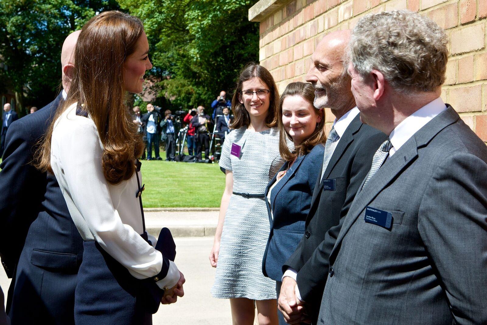 Meeting HRH The Duchess of Cambridge