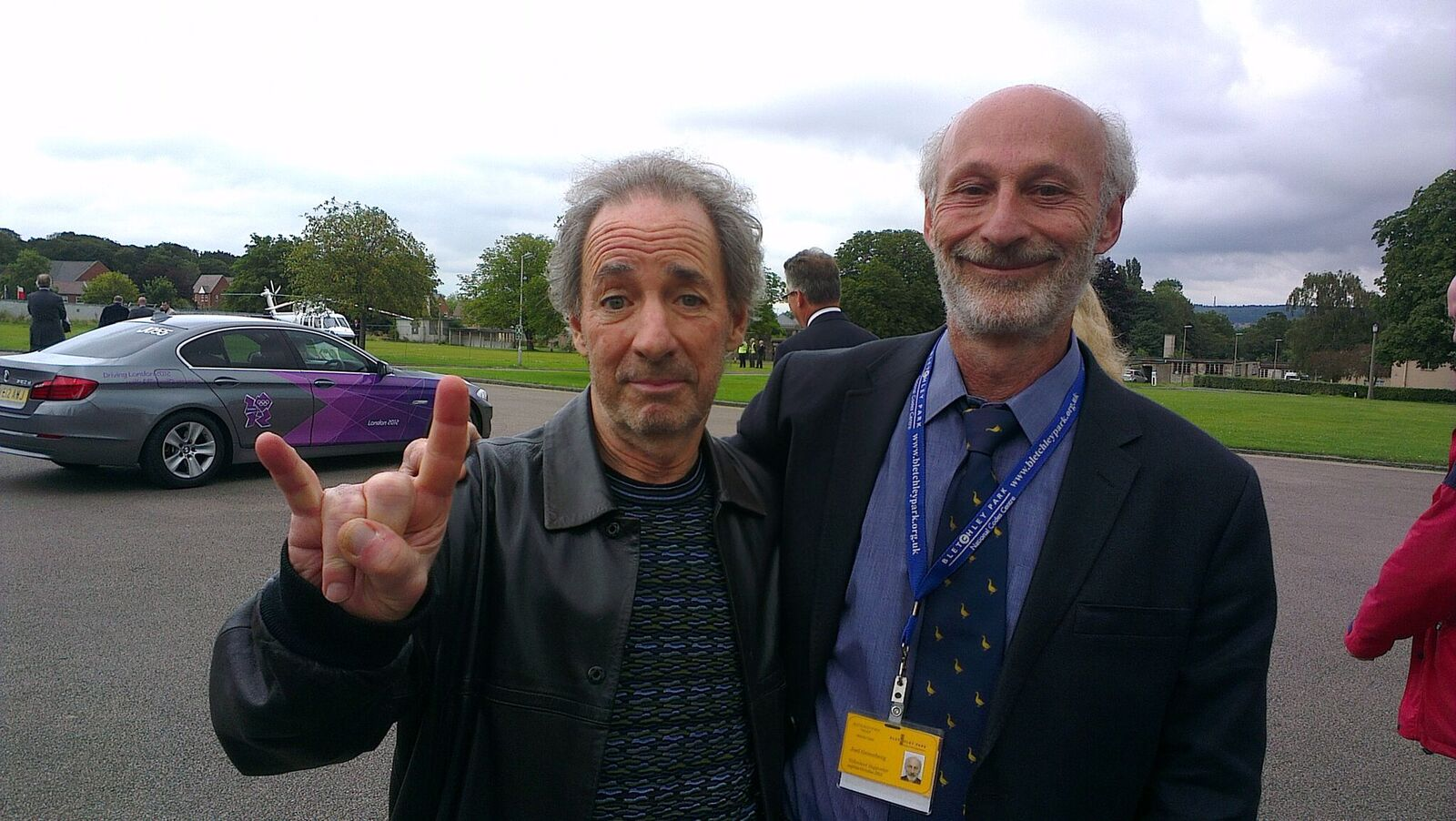 With Harry Shearer