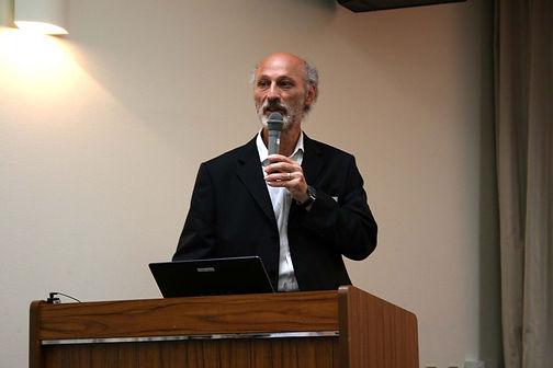Joel Greenberg speaking in Tokyo, 2007