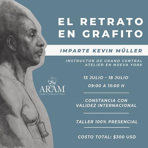 Taller El Retrato en Grafito con Kevin Müller
