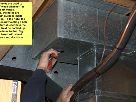 """HVAC Air Duct Cleaning – """"Hygienic Restoration"""""""