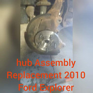 Ford Explorer Hub Assembly Replacement