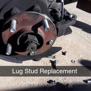 Wheel Stud Replacement