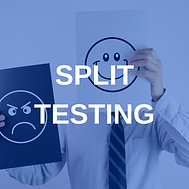 The Social Pixel, Split Testing