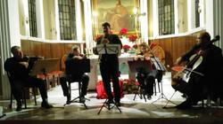 with the string quartet Quadro Armonico