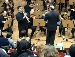 with Athens State Orchestra